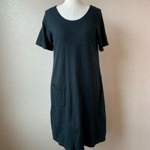 NEW Fresh Produce Dress T-Shirt Tunic Black Cotton